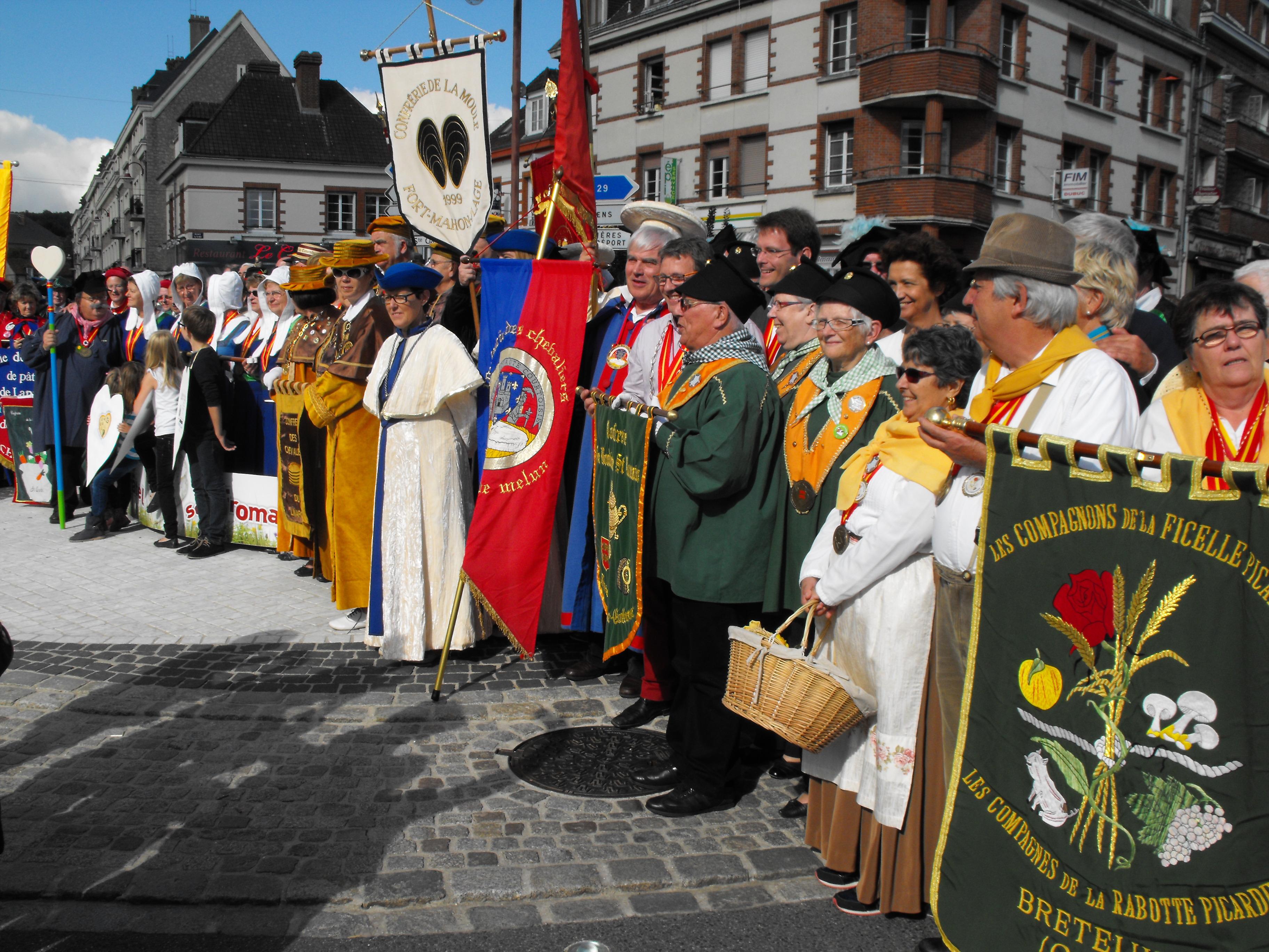 20ème Anniversaire de la Confrérie du Fromage de Neufchâtel